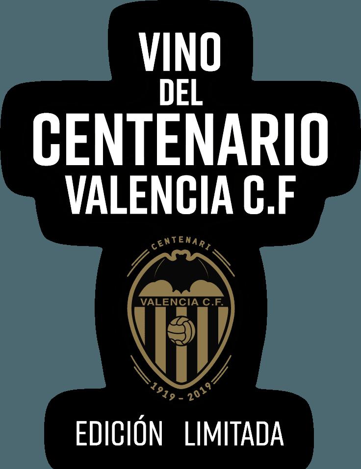 Vino del Centenario Valencia C.F. texto