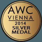 Medalla de Plata en AWC Vienna 2014 (Austria)