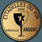 Medalla de Plata en Citadelles du Vins 2015 (Francia)