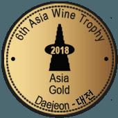 Medalla de Oro en Asia Wine Trophy 2018 (Korea del Sur)