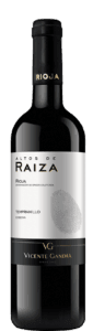 Vino de Rioja Tempranillo Altos-de-Raiza