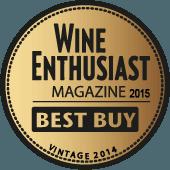Mejor Calidad/Precio en Wine Enthusiast 2015 (USA) (añada 2014)