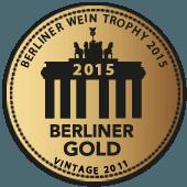 Medalla de Oro en Berliner Wein Trophy 2015 (Alemania) (añada 2011)