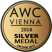 Medalla de Plata en AWC Vienna 2016 (Austria) (añada 2013)