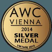 Medalla de Plata en AWC Vienna 2014 (Austria) (añada 2010)