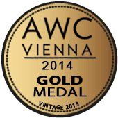 Medalla de Oro en AWC Vienna 2014 (Austria) (añada 2013)