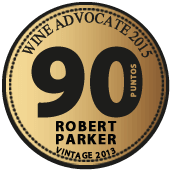 90 puntos Robert Parker - Wine Advocate 2015 (USA) (vintage 2013)