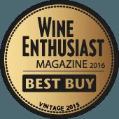 Mejor Calidad/Precio en Wine Enthusiast 2016 (USA) (añada 2015)