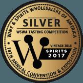 Medalla de Plata en WSWA Wine & Spirits Wholesalers of America 2017 (USA) (añada 2016)