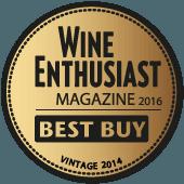 Mejor Calidad/Precio en Wine Enthusiast 2016 (USA) (añada 2014)