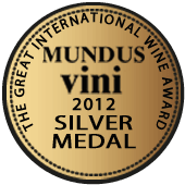 Medalla de Plata en Mundus Vini 2012 (Alemania)