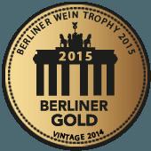 Medalla de Oro en Berliner Wein Trophy 2015 (Alemania) (añada 2014)