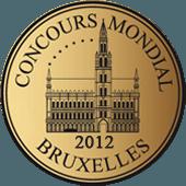 Medalla de Plata en Concours Mondial de Bruxelles 2012 (Bélgica) (añada 2011)