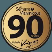 90 puntos en la guía La Semana Vitivinícola 2017