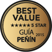 5 estrellas a la mejor relación Calidad - Precio en Guía Penín 2015