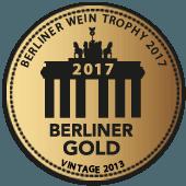Medalla de Oro en Berliner Wein Trophy 2017 (Alemania) (añada 2013)