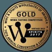Medalla de Oro en WSWA Wine & Spirits Wholesalers of America 2017 (USA) (añada 2013)