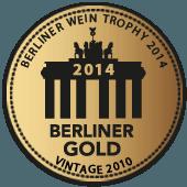 Medalla de Oro en Berliner Wein Trophy 2014 (añada 2010)