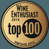 Top 100 Mejor Calidad-Precio en Wine Enthusiast 2014 (añada 2013)