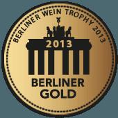 Medalla de Oro en Berliner Wein Trophy 2013 (Alemania)