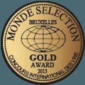 Medalla de Oro en Monde Selection 2013 (Alemania)