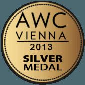 Medalla de Plata en AWC Vienna 2013 (Austria)