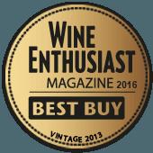 Mejor Calidad/Precio en Wine Enthusiast 2016 (USA) (añada 2013)