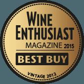 Mejor Calidad/Precio en Wine Enthusiast 2015 (USA) (añada 2012)