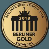 Medalla de Oro en Berliner Wein Trophy 2018 (Alemania) (añada 2015)