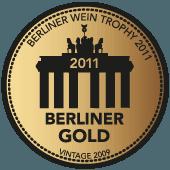Medalla de Oro en Berliner Wein Trophy 2011 (añada 2009)