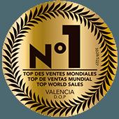 Top de Ventas Mundial D.O.P. Valencia